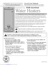 Rheem Water Heater Manual : rheem, water, heater, manual, Rheem, Gallon, Manuals, ManualsLib