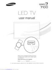 Samsung UN55ES7100 Manuals