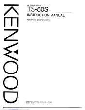 Kenwood TS-50S Manuals