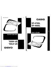 Casio SF-4900L Manuals