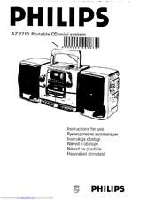 Philips AZ 2710 Manuals