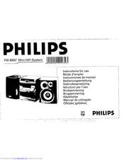 Philips FW 850C Manuals