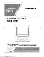 Sylvania SSC091 Manuals