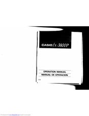 Casio fx-3800P Manuals