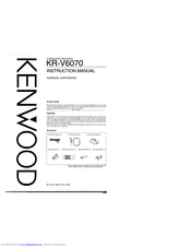 Kenwood KR-V6070 Manuals