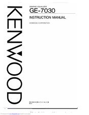 Kenwood GE-7030 Manuals