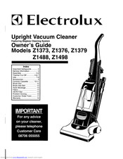 Electrolux Z1379 Manuals