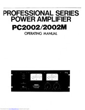 Yamaha PC2002 Manuals