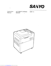 Sanyo SBM-10 Manuals