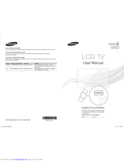 Samsung LN32D450G1D Manuals
