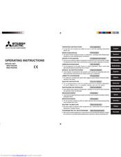 Mitsubishi Electric MSZ-FA35VA Series Manuals