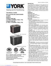 York H1RA018S06 Manuals