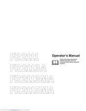 Jonsered FR2115MA Manuals