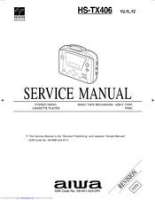 Aiwa HS-TX406 Manuals