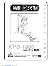 Keys Fitness Power System : fitness, power, system, Fitness, Power, System, KPS-1800, Manuals, ManualsLib