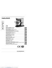 Morphy richards Kitchen machine with attachments Manuals