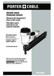 Porter Cable Fr350a Parts : porter, cable, fr350a, parts, Porter-cable, FR350A, Manuals, ManualsLib