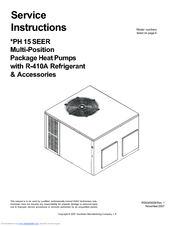 Goodman Gpg1424060m41 Instruction Manual And User Guide