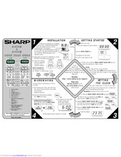 Sharp R-754M Manuals