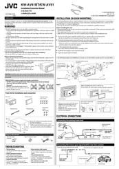 Jvc KW-AV61BT Manuals