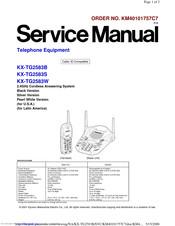 Panasonic KX-TG2583S Manuals