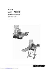 Bizerba A400 Manuals