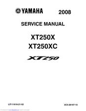 Yamaha XT250 Manuals