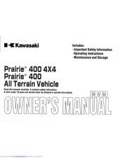 Kawasaki Prairie 400 4x4 Manuals