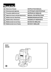 Makita 3612 Manuals