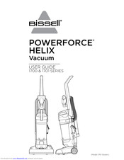 Bissell Powerforce Helix 1700 Series Manuals