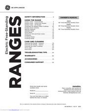 Ge JB860 Manuals