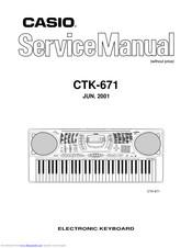 Casio CTK-671 Manuals