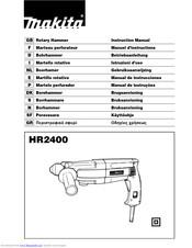 Makita HR2400 Manuals