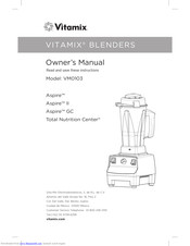 Vitamix VM0103 Manuals