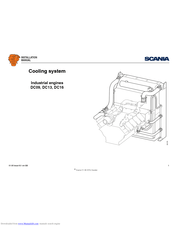 Scania DC13 Manuals