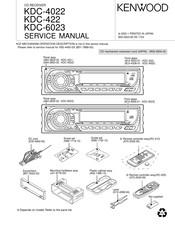 Kenwood KDC-4022 Manuals