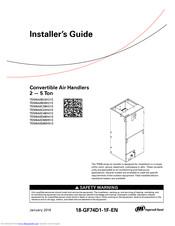 Ingersoll-rand TEM6A0B24H21S Manuals