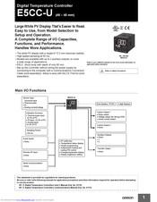 Omron E5CC-U Manuals