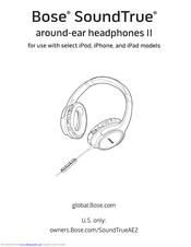 Bose SoundTrue AE2 Manuals