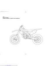 Honda 2009 crf 450r Manuals