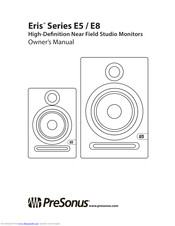 Presonus Eris Series E5 Manuals