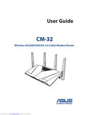 Asus CM-32 Manuals