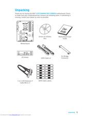 Msi X370 GAMING PRO CARBON Manuals