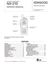 Kenwood NEXEDGE NX-210 Manuals