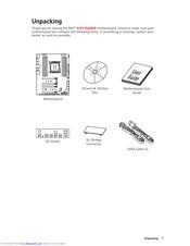 Msi X299 SLI PLUS Manuals