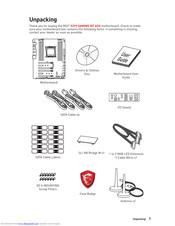 Msi X299 GAMING PRO CARBON AC Manuals