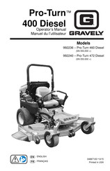 Gravely Pro-Turn 260 EFI Manuals