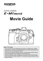 Olympus E-M1 MARK II Manuals