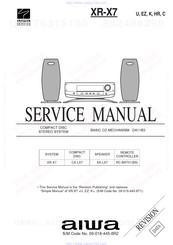 Aiwa XR-X7 Manuals