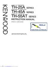 Kenwood TH-25AT Manuals